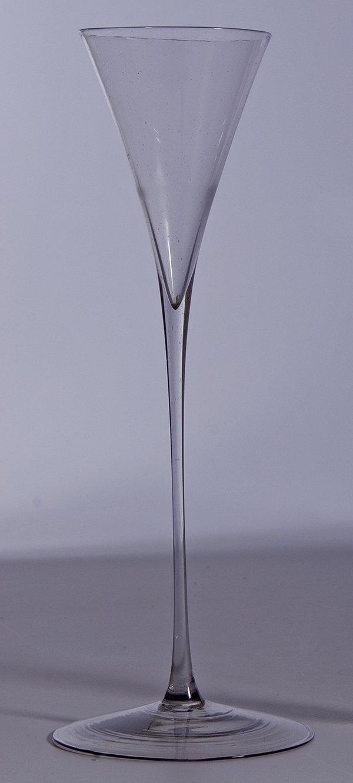 13: Floete Deutsch Glass Flute Germany vintage old