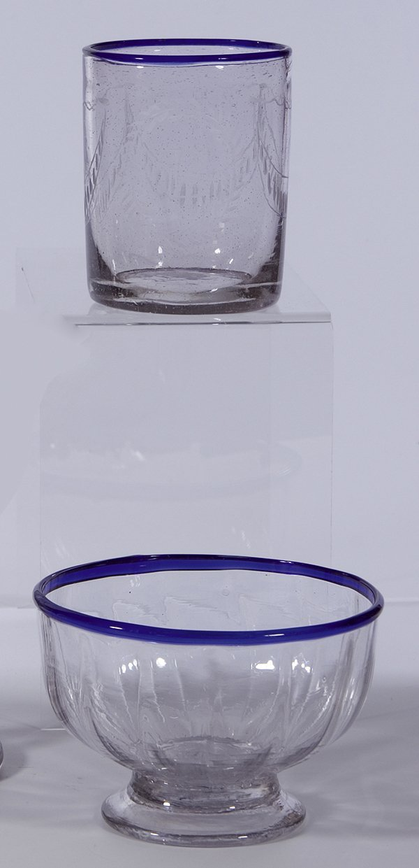 17: Becher+Schale Venedig Glass Beaker+Vowl Venice