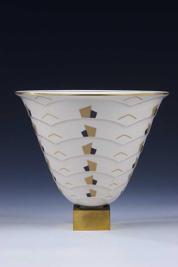 194: Vase ruhlmann  Naudy Sevres Art Deco Nouveau