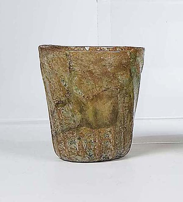 1: Becher Bodenfund German Glass Beaker Attic find