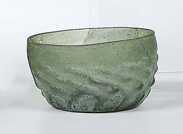 5: Maigelein Bodenfund German Glass Bowl Attic find