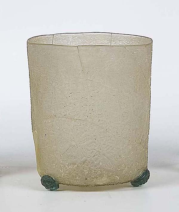 10: Becher Facon De Venise Glass Beaker Attic Find