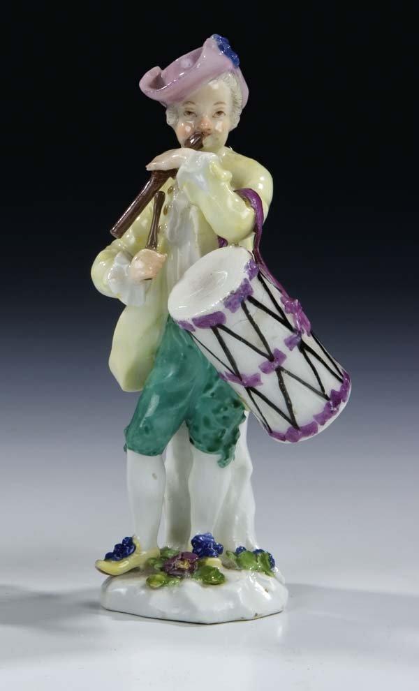 10: Cris de Paris Meissen Porcelain Figurine Vintage