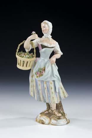 14: Cris de Paris Meissen Porcelain Figurine Vintage