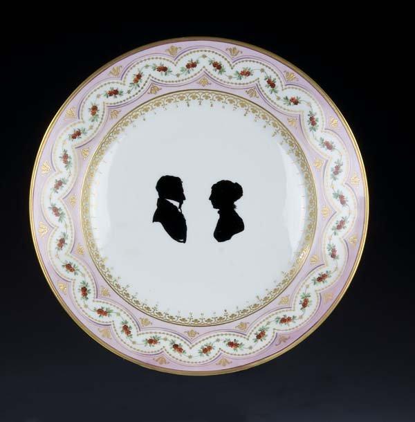 19: Zierteller Vienna Porcelain Ornamental Plate