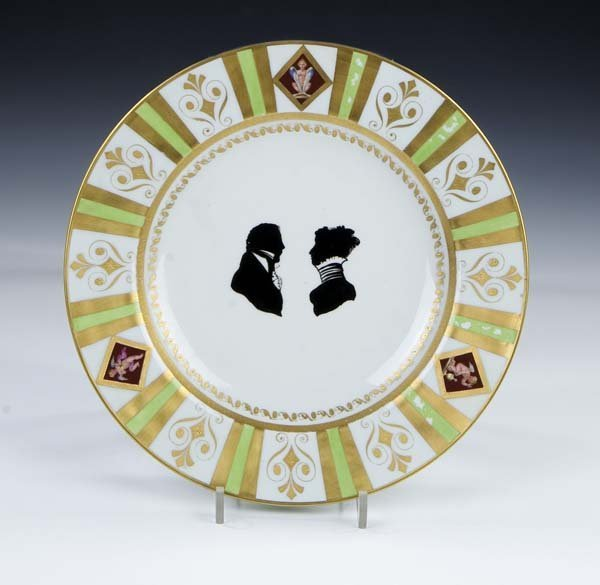 20: Zierteller Vienna Porcelain Ornamental Plate