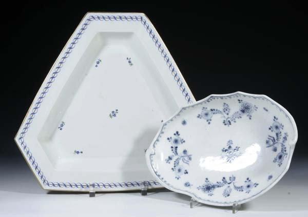 21: 2 Schalen Vienna Porcelain Bowls Vintage Old