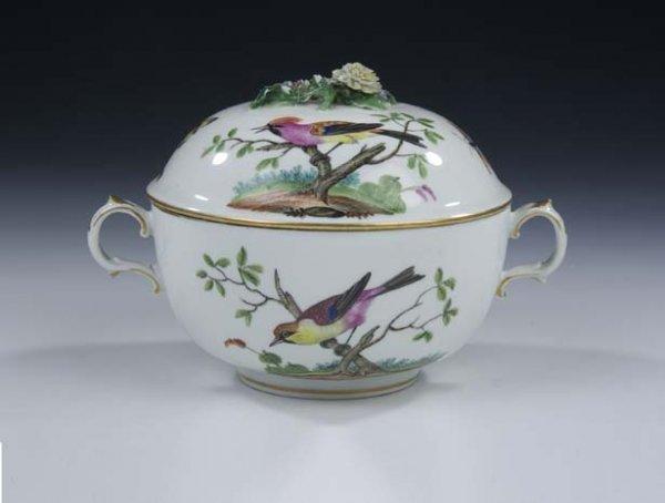 22: Deckeldose Vienna Porcelain Bowl Vintage