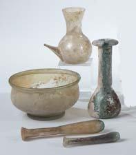2: 5 Ausgrabungen Near East Ancient findings Glass