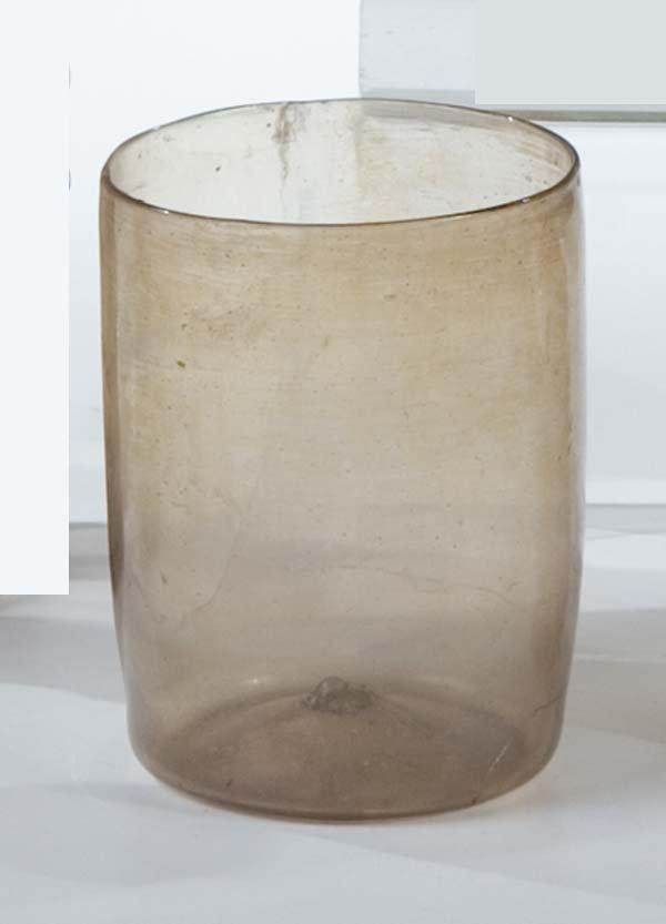 4: Becher Facon de Venise Glass Beaker Vintage
