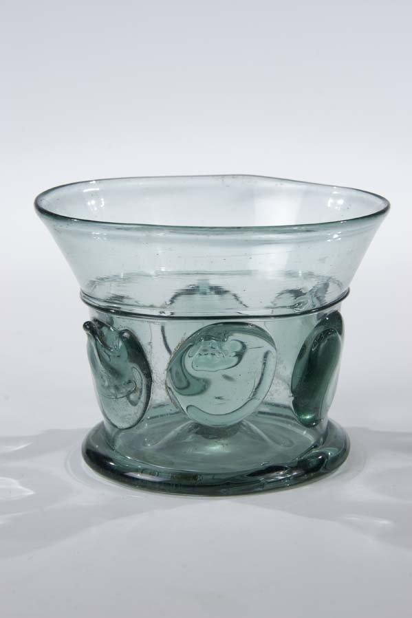 8: Nuppenbecher German Glass Beaker Vontage Old