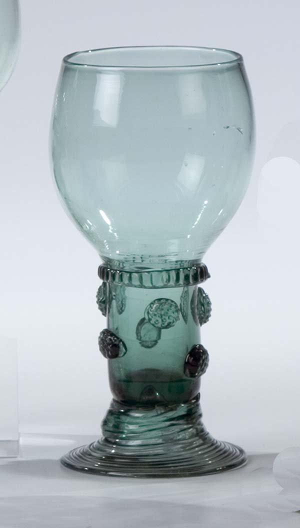 13: Roemer German Glass Rummer Vintage Old Antique