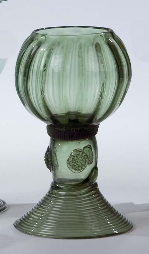 14: Roemer German Glass Rummer Vintage Old Antique