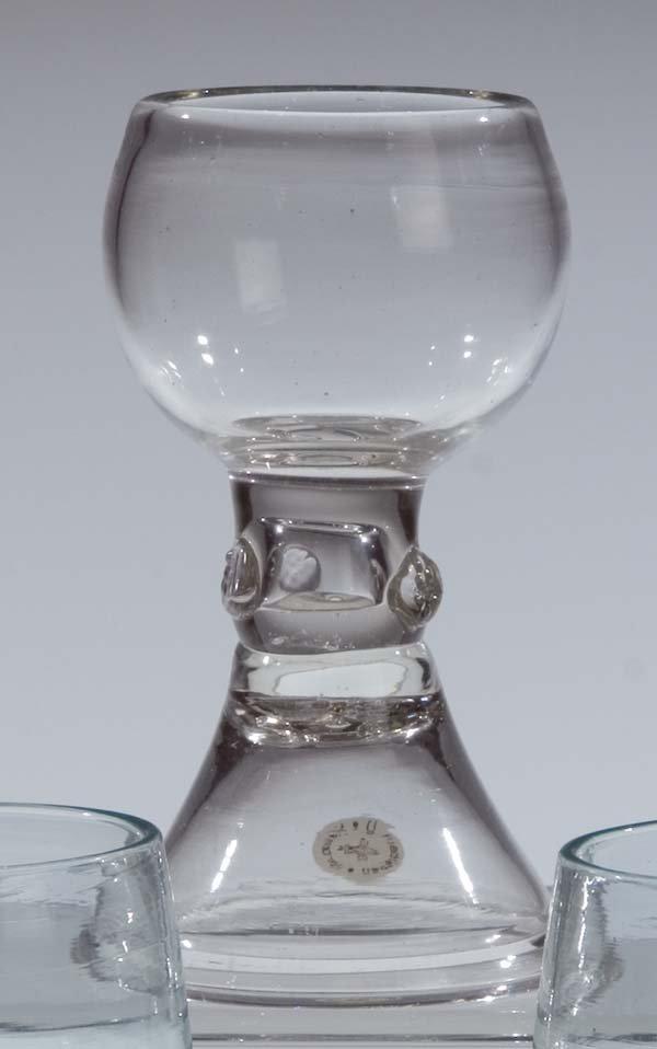 17: Roemer German Glass Rummer Vintage Old Antique