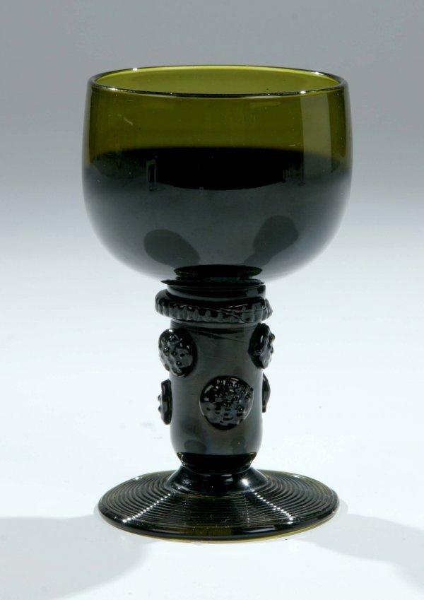 18: Roemer German Glass Rummer Vintage Old Antique