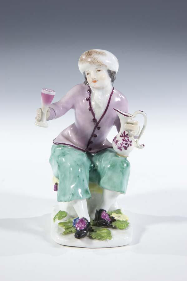 4:  Bauer Porzellan Meissen Porcelain Dutch Farmer