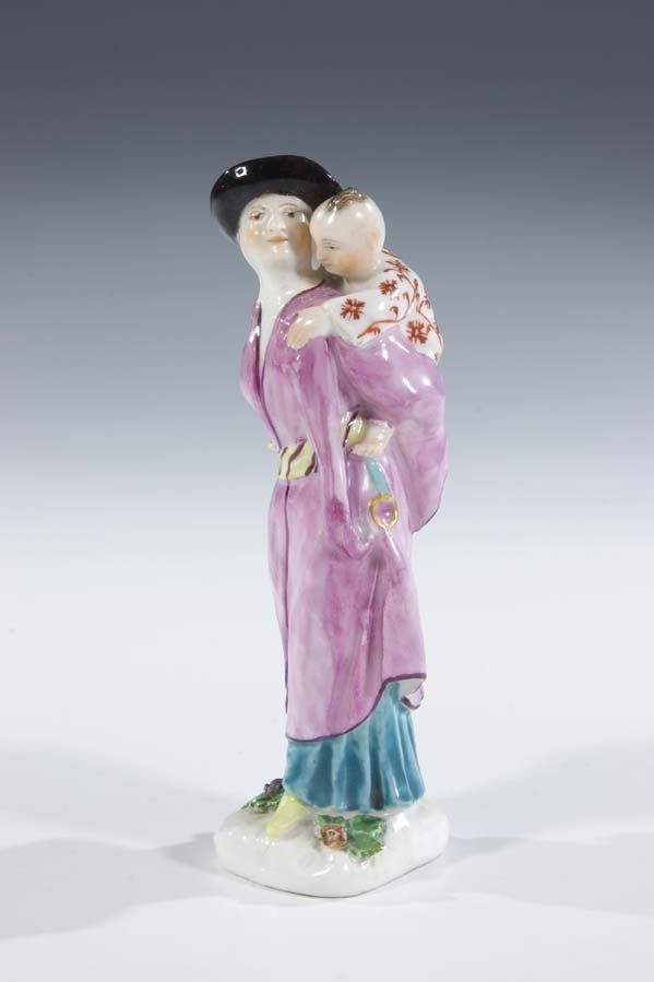 5:  Japanerin Porzellan Meissen Porcelain Japanese Old