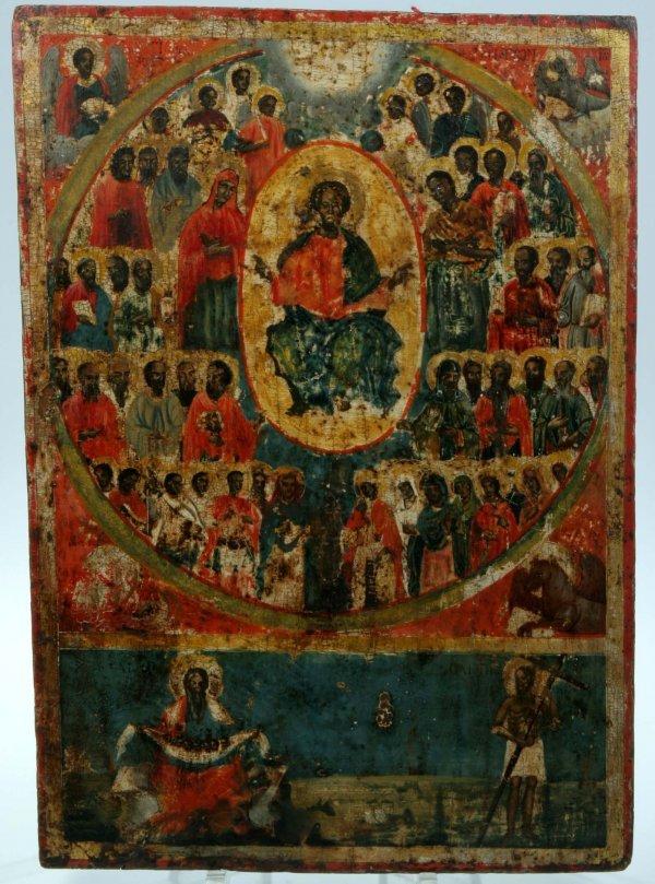 1281A:  Greek Icon Deesis