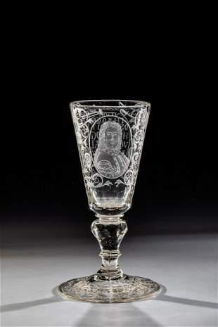 Pokal mit Portrait des Herzogs von Marlborough