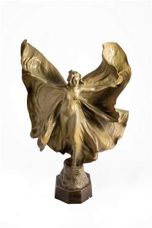 ''Serpentint�nzerin'' (Loie Fuller) - (Lampe)