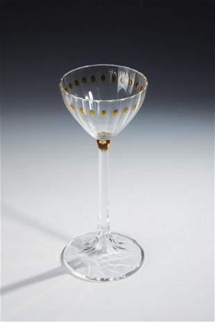 Seltenes Weinglas
