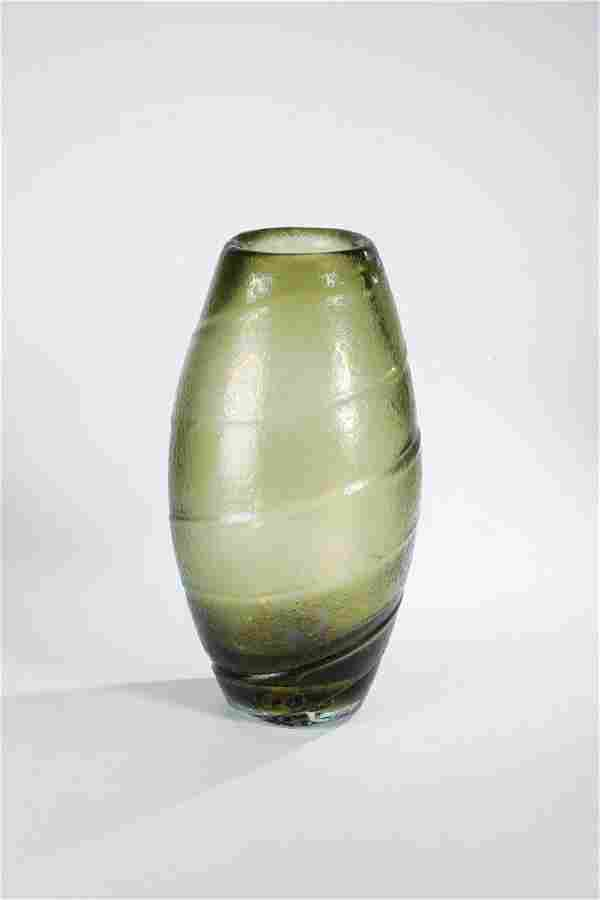 Vase ''in vetro corroso''