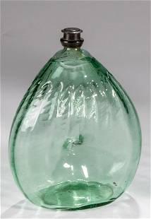 Nabelflasche mit Zinnschraubverschluss