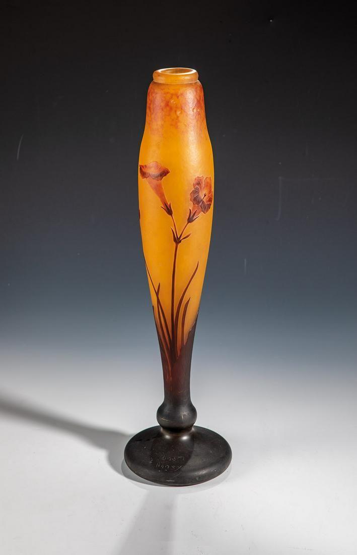 Vase ''Fleurs de Tabac''