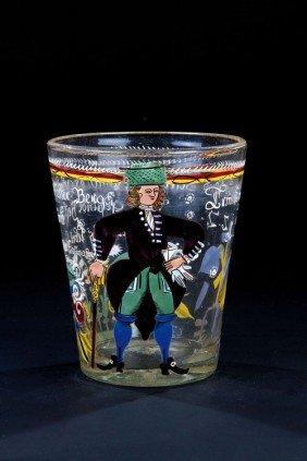 11: A beaker of the head miner Caspar Hoffmann Franconi