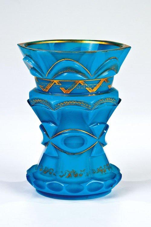 15: A rare stone glass beaker Buquoy'sche Hütten, Georg