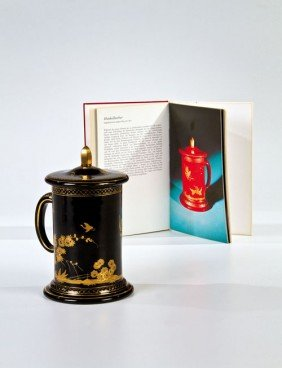 16: A tankard with chinoiserien South Bohemia, Buquoy's