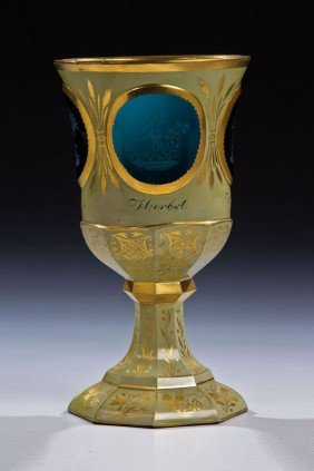 17: An important goblet with the four seasons Friedrich