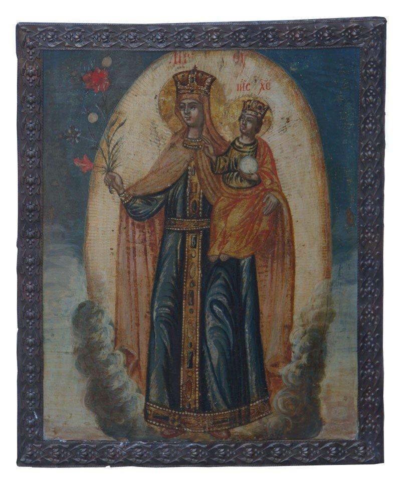 10: Gottesmutter ''Nicht verwelkende Blume''