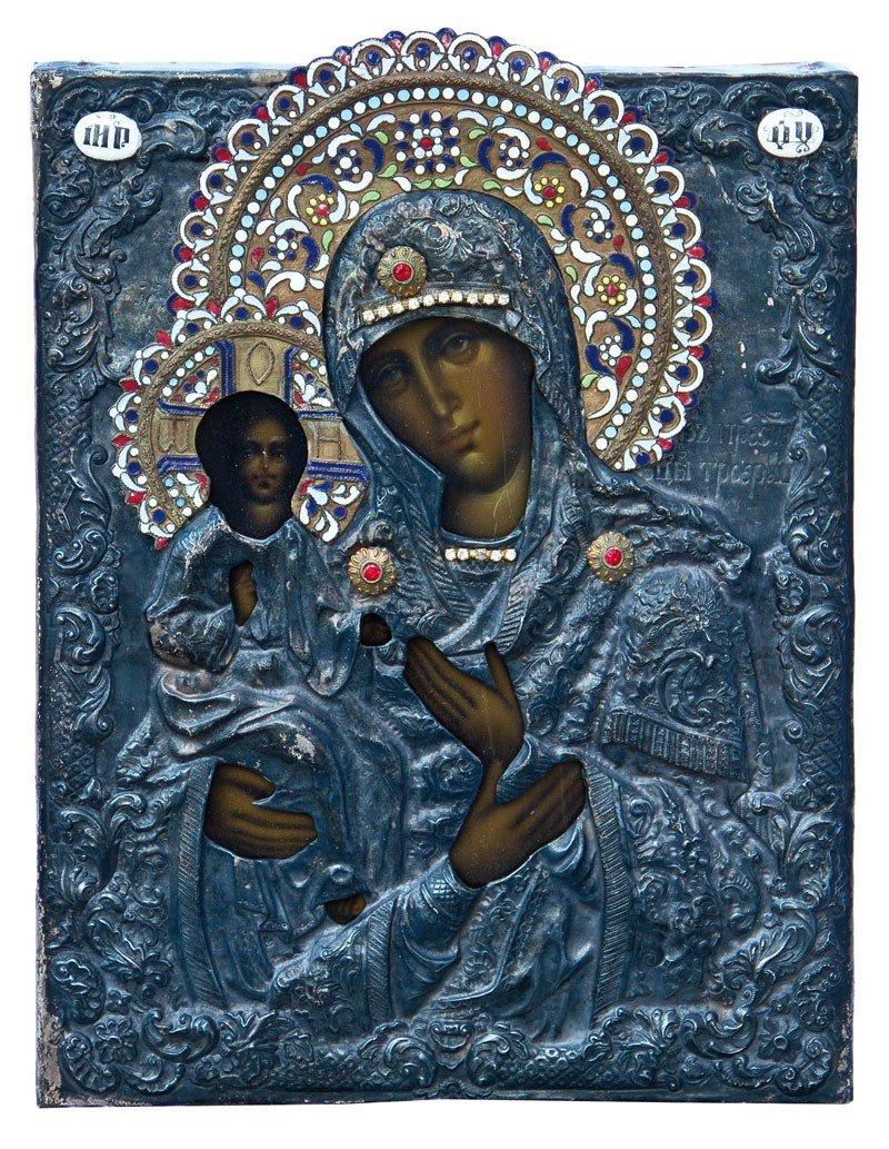 20: Dreihändige Gottesmutter (Tricheirousa)