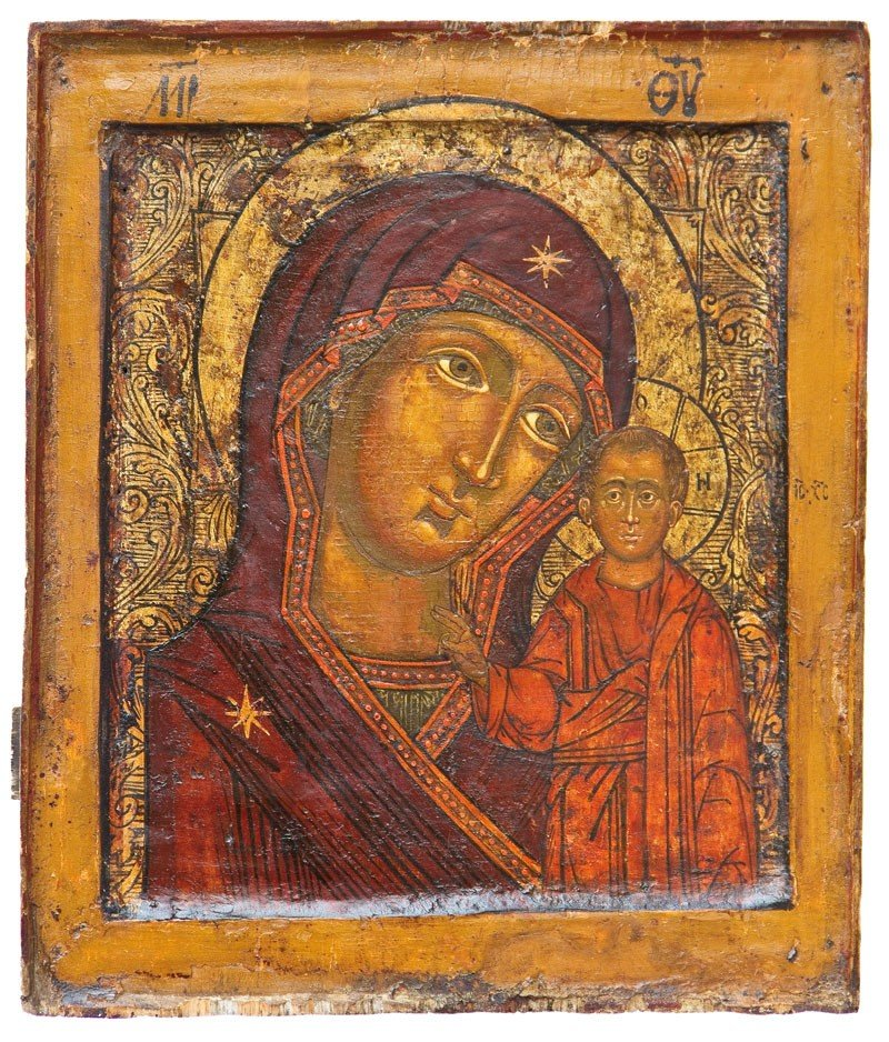 24: Muttergottes von Kasan (Kazanskaja)
