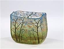 1022: Vase mit Baumlandschaft