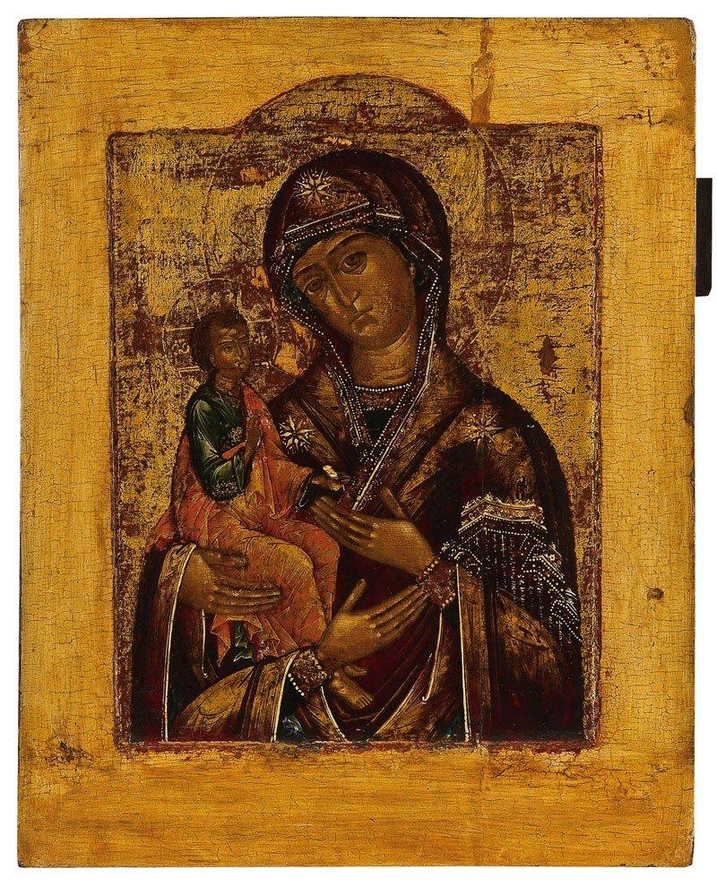 7: Gottesmutter Tricheirousa