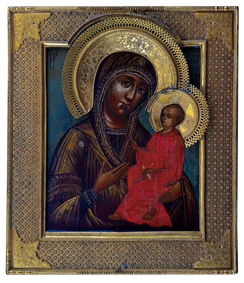 8: Gottesmutter Tichwinskaja