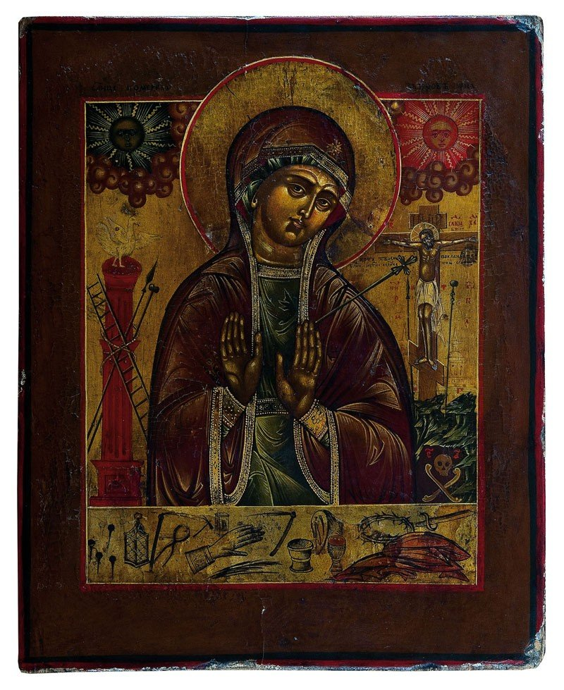 14: Gottesmutter Achtyrskaja
