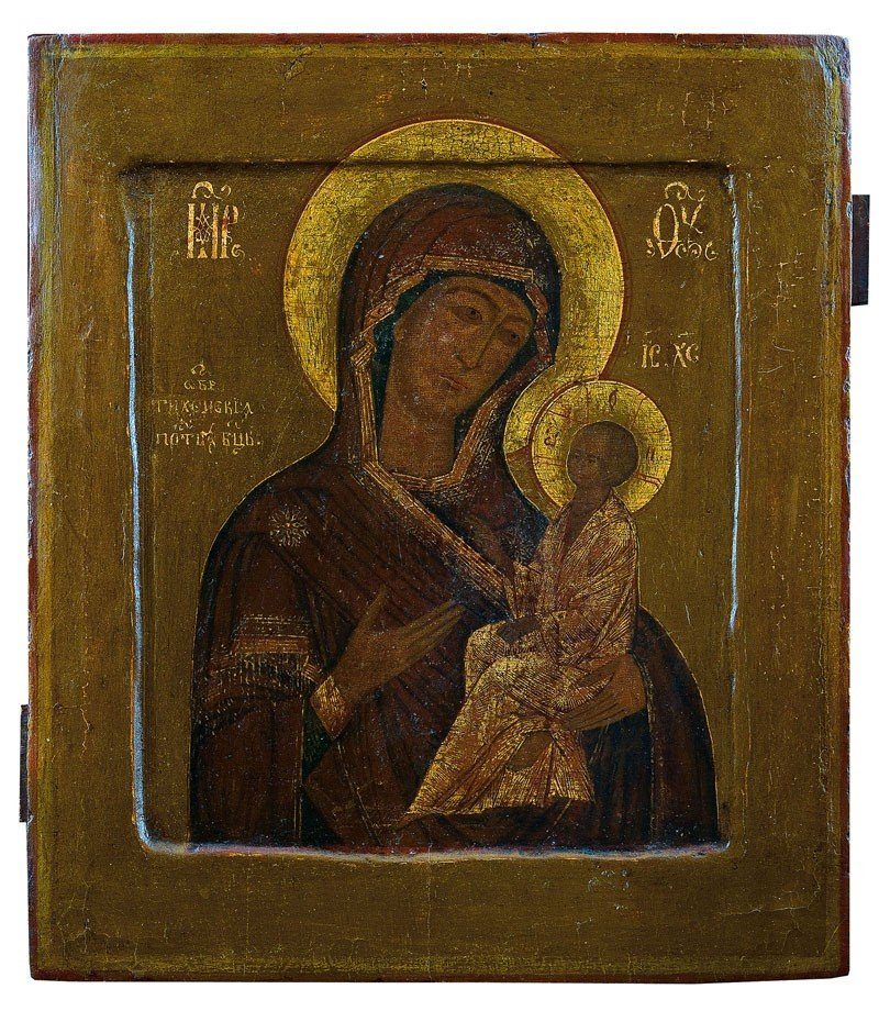 17: Gottesmutter Tichwinskaja