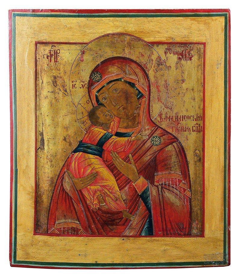 23: Gottesmutter Wladimirskaja