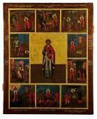 280: Große Vitaikone des heiligen Panteleimon