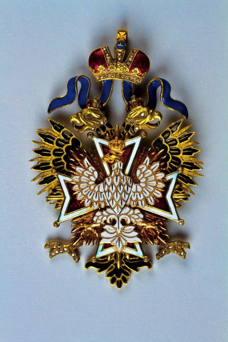 514: Orden vom Weißen Adler - Ordensdekoration mit Diam