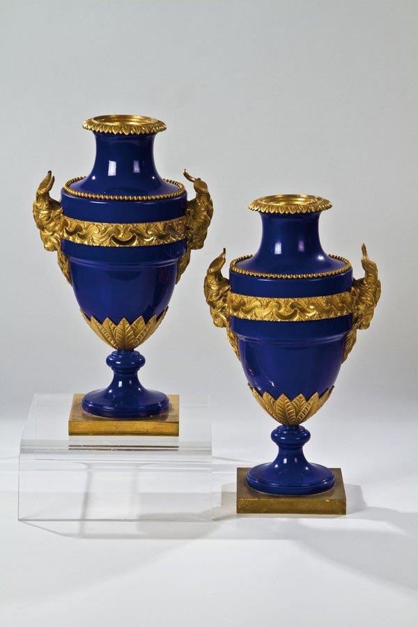5: Paar Amphoren - Vasen