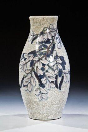 Vase Mit Wicken