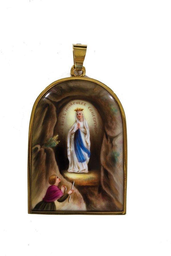 732: Medaillon mit Maria Immaculata