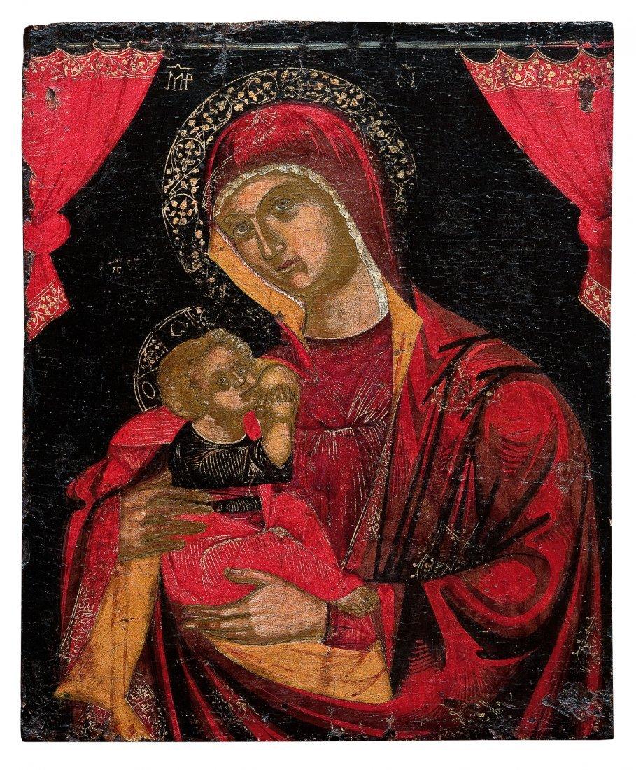 4: Gottesmutter Galaktotrophousa (Die stillende Mutterg