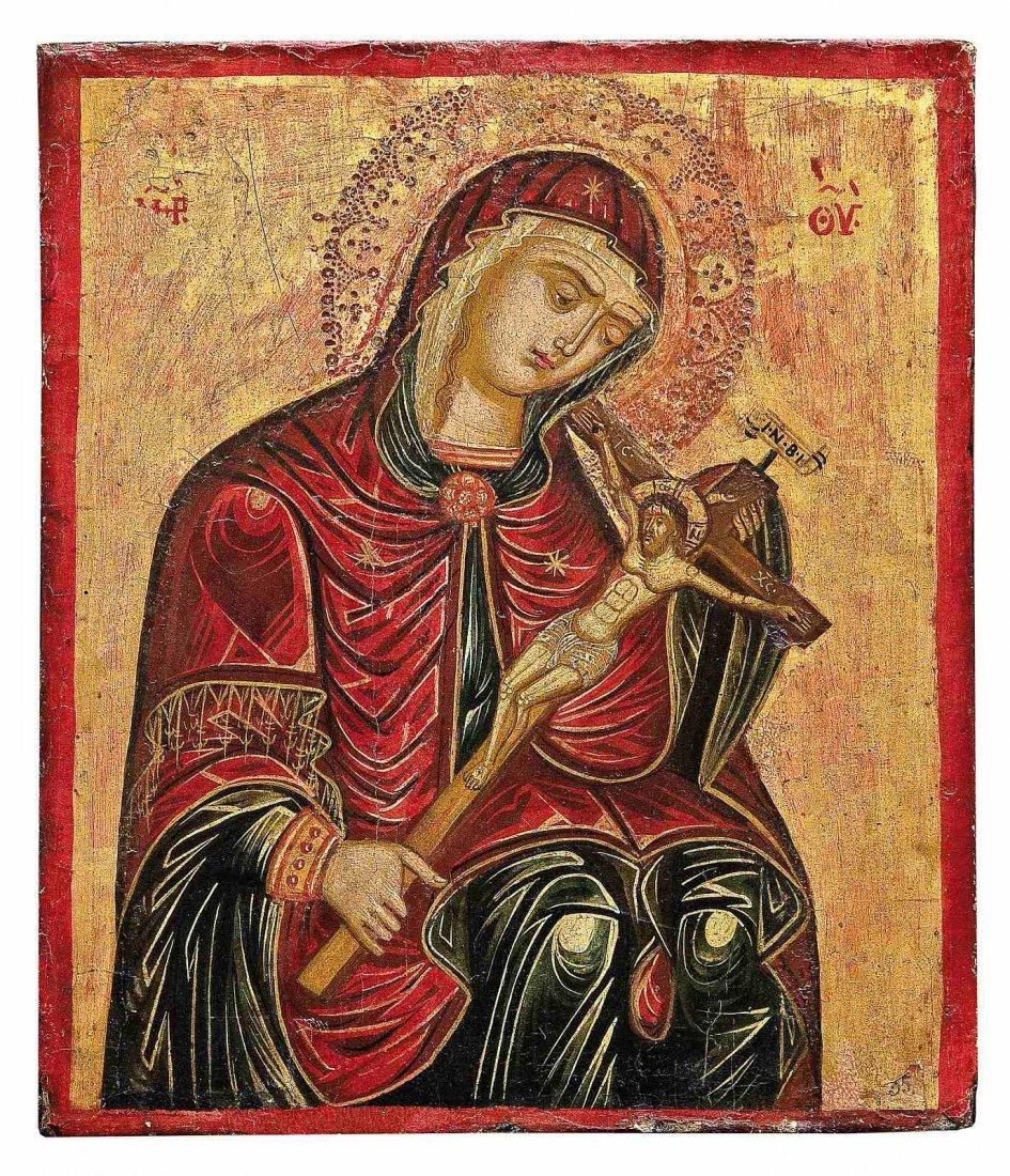5: Muttergottes von der Passion (Gottesmutter Achtyrska