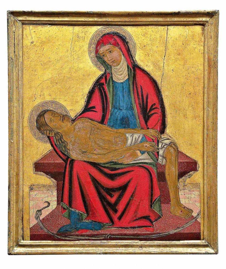 6: Großformatige Pietà