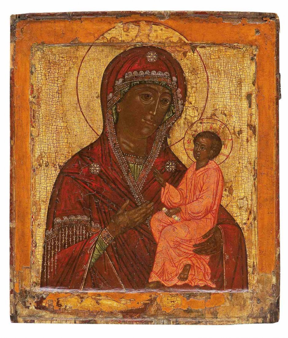 16: Gottesmutter Tichwinskaja